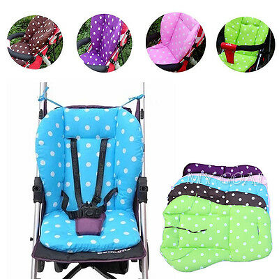Baby Trolley Stroller Buggy Pram Pushchair Soft Seat Padding Dot Pad Cushion Mat