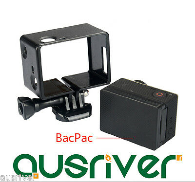 Standard BacPac Frame Protective Housing for GoPro Hero 4 3+ Battery LCD Screen