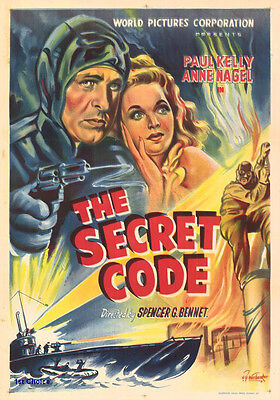 The Secret Code - Cliffhanger Classic Movie Serial DVD Paul Kelly Anne Nagel