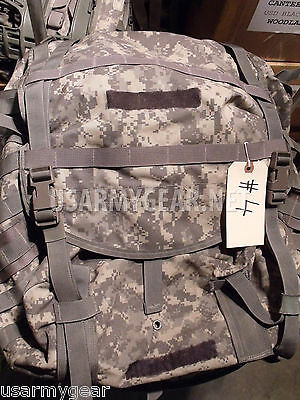 US ARMY MOLLE II SDS ACU RUCKSACK digital BACK PACK,field,frame USGI USA