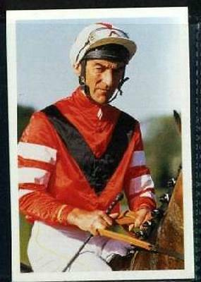 Scarce Trade Card of Greville Starkey Horse Racing 1986