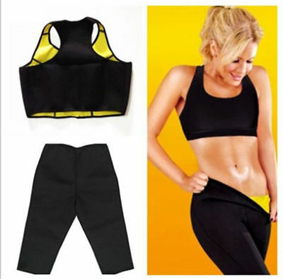 Free* Completo Top E Pantaloncino Hot Shapers Sauna Dimagrante Fitness Taglie