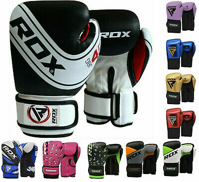 RDX 6oz Kids Boxing Gloves Children Punching Bag Mitts Junior MMA Training CA