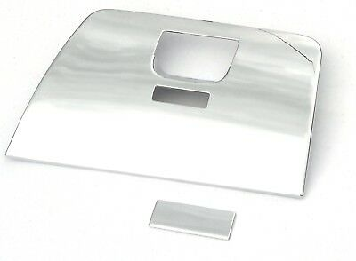 Glove Box cover chrome plastic Freightliner Cascadia 2008 & up glovebox