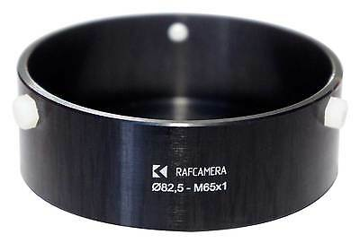 RafCamera 82.5mm to M65x1 adapter (LOMO projection lenses on helicoids)
