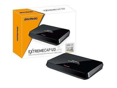 AVerMedia ExtremeCap U3 CV710 1080p 60fps Capture Uncompressed HD Video