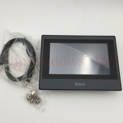 7 Inch TFT HMI Touch Screen MT4434TE Ethernet Panel Program Cable Software KINCO