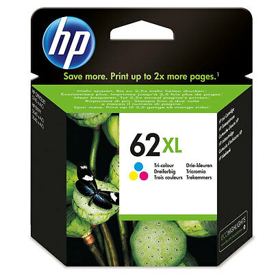 CARTOUCHE HP 62XL COULEUR / 62 xl c2p07ae officejet 5740 envy 5640 7640 e-aio