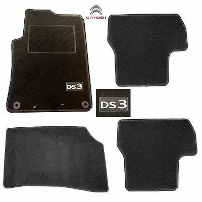 New Genuine Citroen DS3 Tailored fit Carpet Floor Mats x4 set of 4 front & Rears