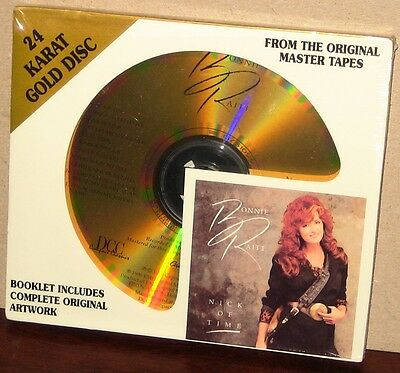 DCC GOLD CD GZS-1099: BONNIE RAITT - Nick Of Time - 1996 USA OOP SEALED