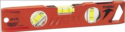 Draper Expert Kapro 69550 250mm Magnetic Plumb Site Dual View Boat Spirit Level
