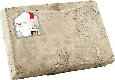 Deville Fireplace Back Brick - 10 Inch (for 18 Inch Grate)
