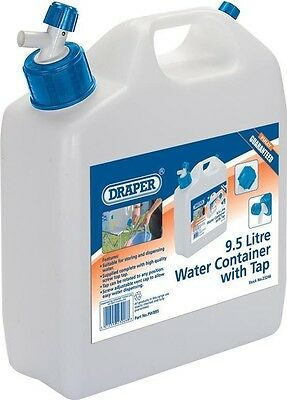 Draper 23246 9.5L Water Container with Tap