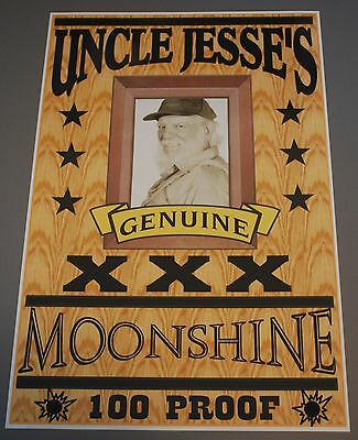Dukes Of Hazzard Uncle Jesse Moonshine Poster 11 X 17 Boars Nest