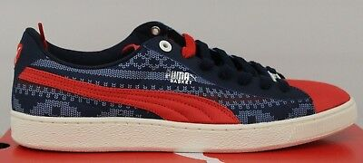 72a1d1a72725 MEN S PUMA BASKET Classic Urban Fair Tomato Blues Silver 35917901 Brand New