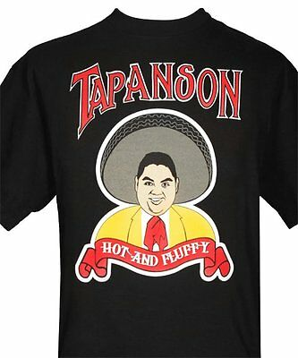 "Gabriel Iglesias ""Tapanson"" Black T-Shirt. Tapatio Label Spoof.  New! Size 4XL"