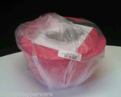 Tupperware Crystalwave Ezwave Microwave Safe Lunch Dish Bowl Pink 2L/8.5cups New