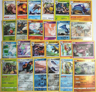 Pokemon Card Lot 50 OFFICIAL Cards Guaranteed 15 Rare & Holos NO DUPLICATES NM+