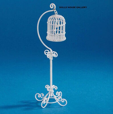 Wire Bird Cage Dolls House Miniature Pets & Animals 1/12 scale