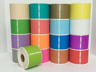 This Listing is for 1 Roll 2-5/16x4 LIME GREEN Dymo Compatible Labels 30256