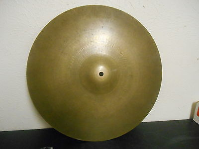"Vintage Zildjian 18"" Medium Ride Cymbal #037"