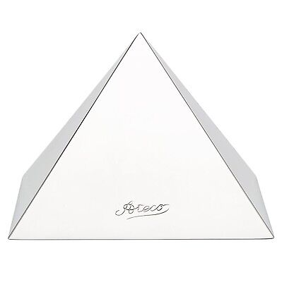Ateco Stainless Steel Food Mold Pyramid Forms 4.75 by 4.0 Inches - 4937