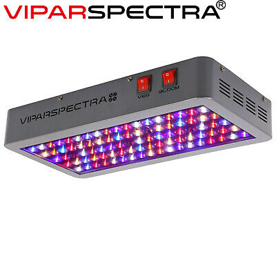 VIPARSPECTRA 450W LED Grow Light 12 Band Full Spectrum Indoor VEG BLOOM Switches