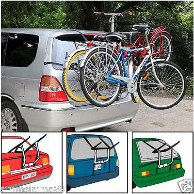 Triple / 3 Bike Bicycle Carrier Car Cycle  Rear Mount for SUZUKI ALTO 09-ON