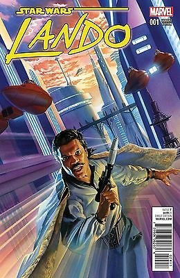 STAR WARS LANDO #1 (OF 5) ROSS VARIANT FREE SHIPPING MARVEL COMICS**