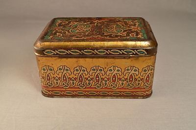 Antique Imperial Russian Candy Litho Tin Box
