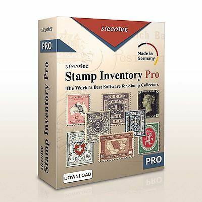 Stecotec Stamp Inventory Pro - Professional Collecting Software for Stamps