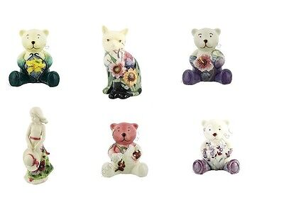 Old Tupton Ware Figures -  Teddies - Cats - Various Patterns **Reduced To Clear*