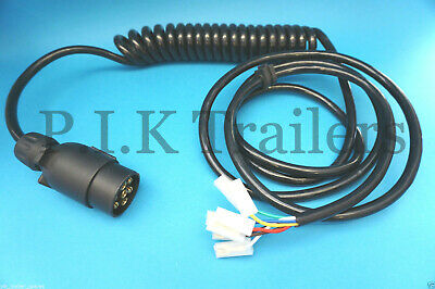 Ifor Williams Trailer 7 Pin 12N Suzie Extension Cable Assembly