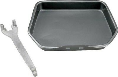 Manor Reproductions Classic Ash Pan with Handle - Fits 400mm Fire Grates