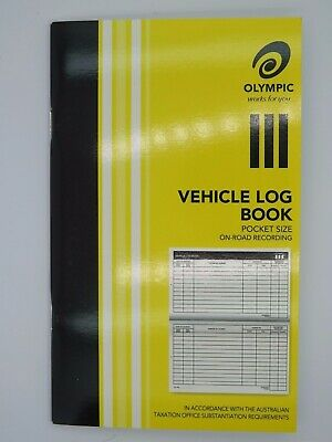 1 x Olympic Vehicle Log Book 180 x 110mm 64P 182643