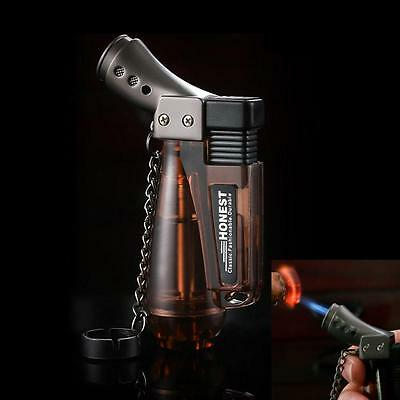 Honest Jet Flame Windproof Durable Cigarette Cigar Gas Butane Lighter