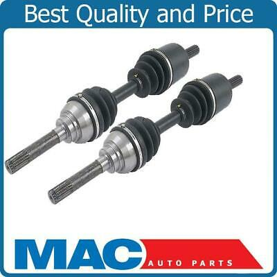 CV DRIVE AXLE SHAFT ASSEMBLY PAIR FRONT FOR ACURA SLX ISUZU TROOPER 4x4 COMPLETE