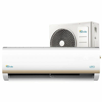 Mini Split Heat Pump - Ductless Air Conditioner - 9000 BTU 1 TON 15 SEER