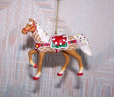 Painted Ponies Sweet Treat Round-Up Christmas Ornament