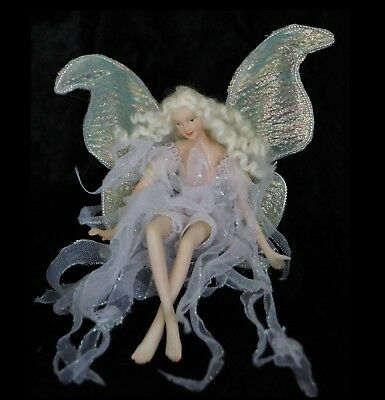 Forever FAIRY #1 Sitting in Lilac dress with Beautiful Wings SALE