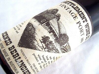 1978 SETTLEMENT WINE CO Vintage Port Isle of Wine