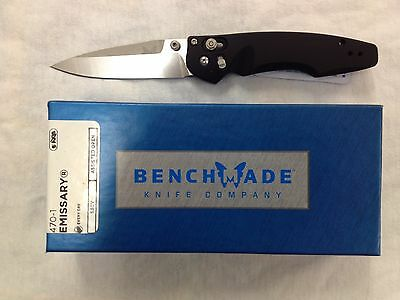 NEW Benchmade 470-1 Emissary S30V Axis Lock Assisted Opening Osborne