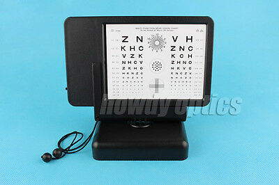 Letter and Reading Visual Acuity Chart Multifunction Near Vision Chart Tester