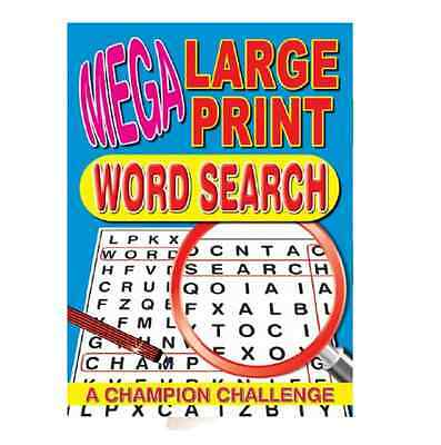 Mega Large Print Word Search Puzzle Book - 129 Puzzles - Book Series 3 (P2174)