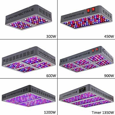VIPARSPECTRA Reflector-Series 300W 450W 600W 900W LED Grow Light Indoor Plants