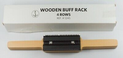 Buff rake cleaning dry buffing mop compound dress & remove wheel surface clean
