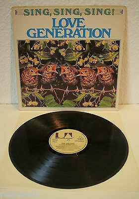 Love Generation - Sing, Sing, Sing! | United-Artists 1975 | VG+ / VG | Cleaned