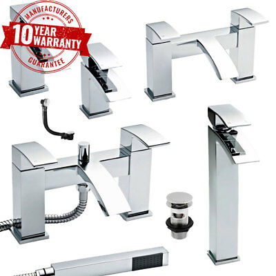 Modern Chrome Bathroom Taps, Basin Taps, Bath Filler Taps and Bath Shower Mixers