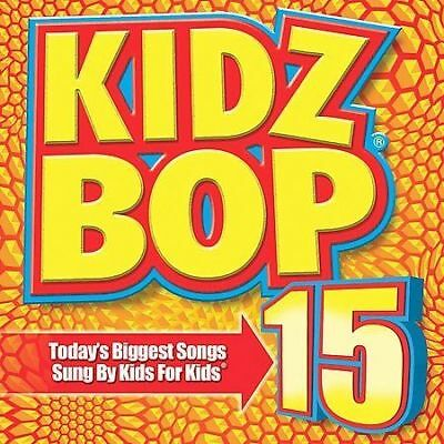 Kidz Bop Kids : Kidz Bop, Vol. 15 CD