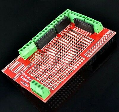 New Prototype Prototyping Shield module for Raspberry Pi Plate